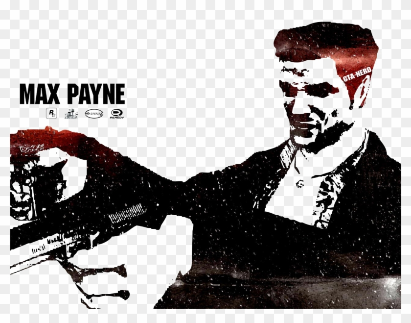 Max Payne Png Picture - Max Payne 1 Wallpaper Hd, Transparent Png #5870079