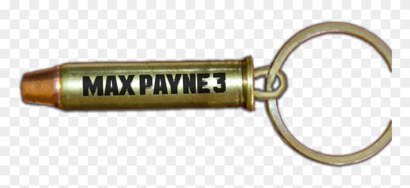 Max Payne 3 Key Chain - Max Payne 3 Bullet Keychain Clipart #5870159