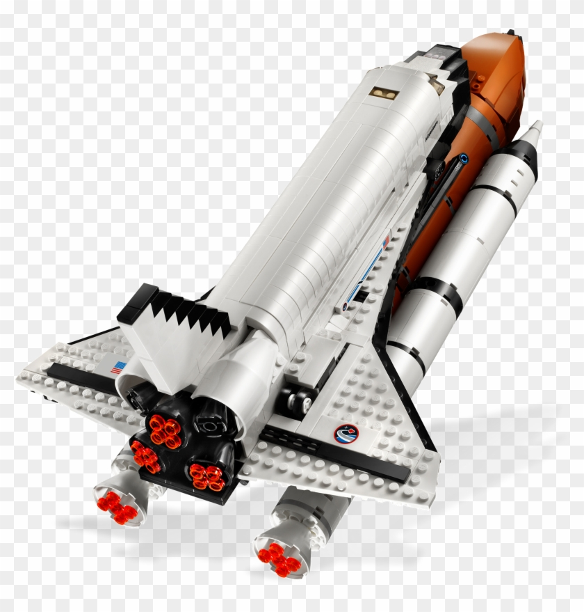 The Shuttle S Thrusters Nasa Spaceship Png - Lego Space Shuttle Clipart #5874199