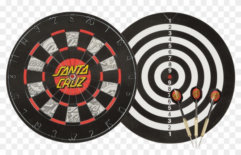 Santa Cruz Dot Dart Board - Dart Board Canadian Tire Clipart #5875450