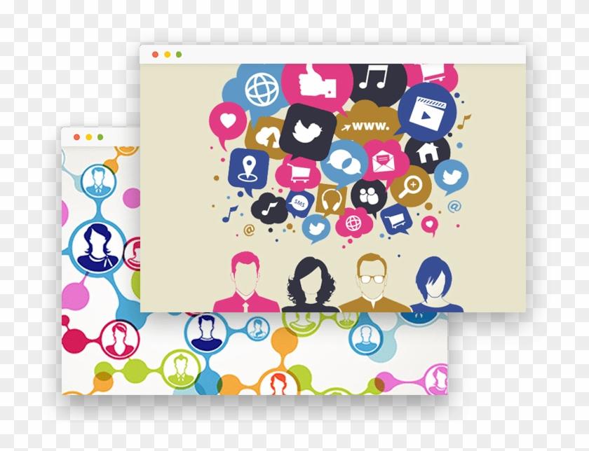 Facebook Messenger - Variety Of Social Media Clipart #5876934