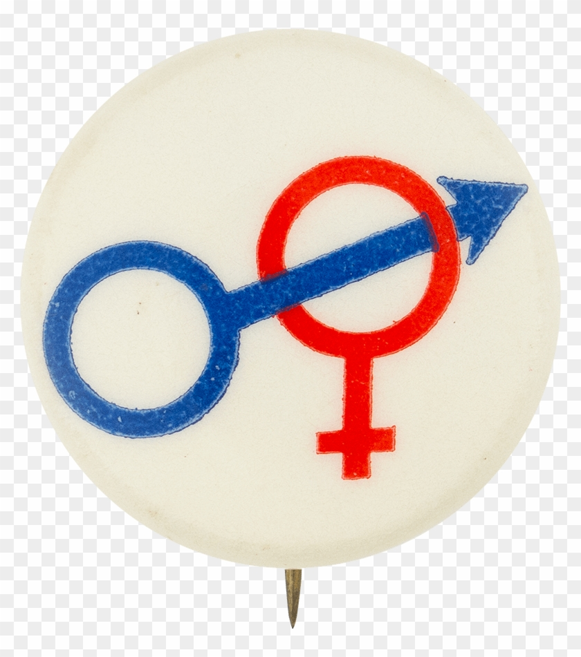 Male And Female Symbols - Female And Male Symbols Joined Clipart #5886686