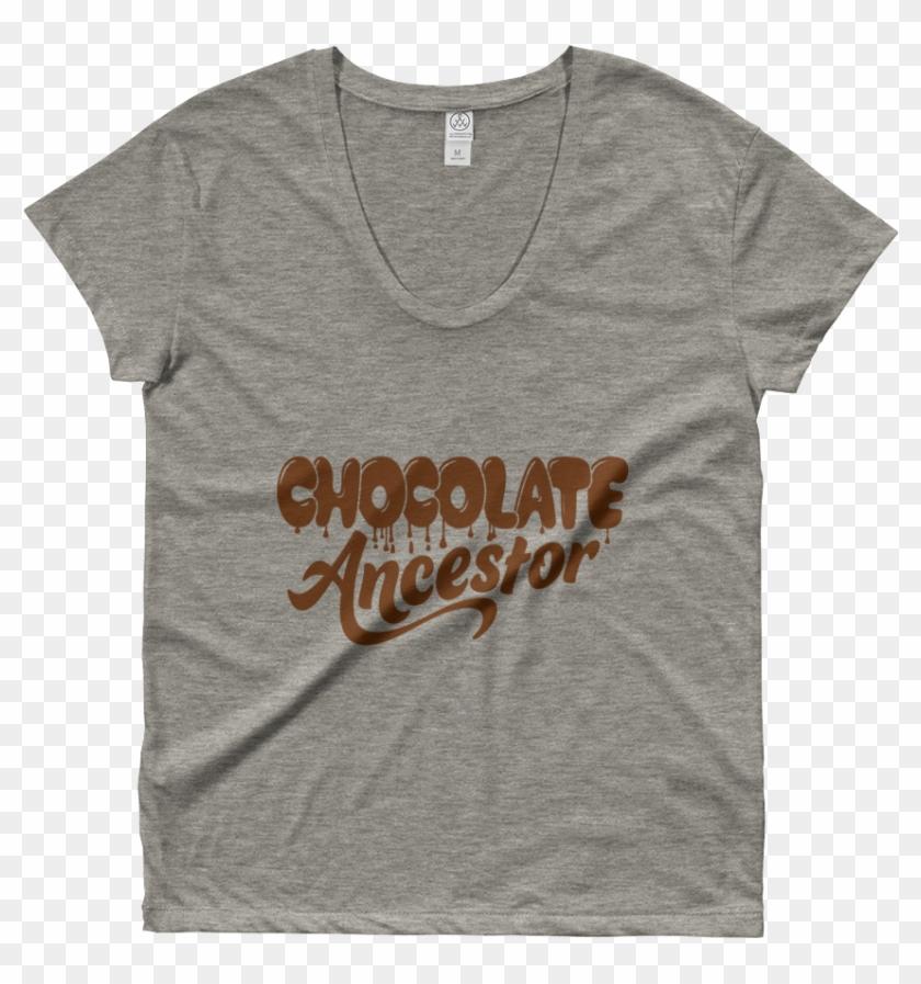 Chocolate Ancestor, Llc- Dripping Chocolate Ancestor - Active Shirt Clipart #5898493
