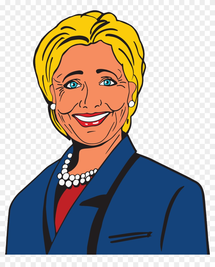 Svg Royalty Free Library Donald At Getdrawings Com - Hillary Clinton Clip Art - Png Download #590456