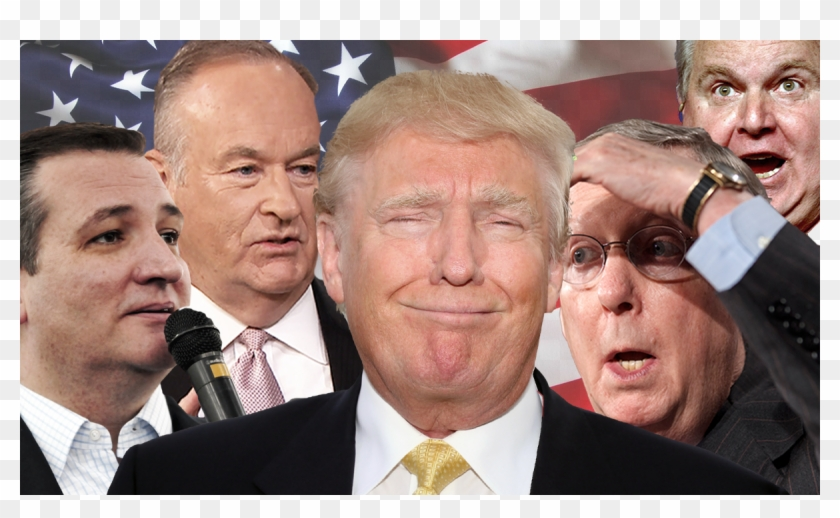 Republican Party Leaders And Conservative Pundits Are - Republican Party Leaders Clipart #590618