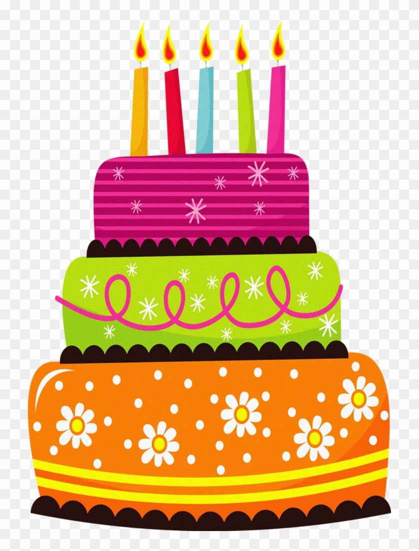 Cat Clipart Birthday Cake - Dios Te Bendiga Feliz Cumpleaños - Png Download #592678