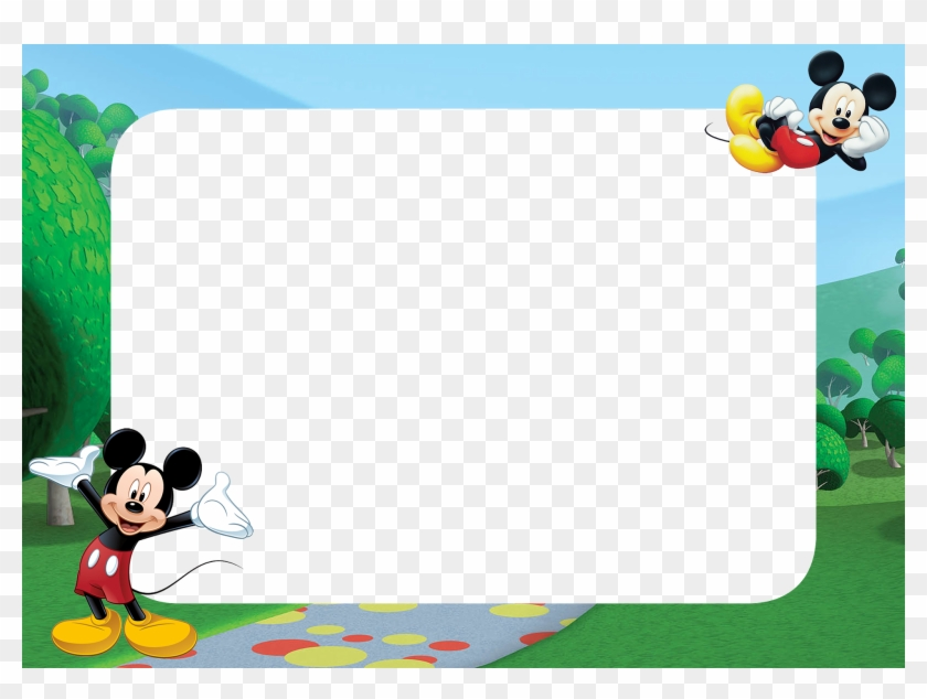 Mickey Mouse Frame Png Mickey Mouse Clipart 593552 Pikpng