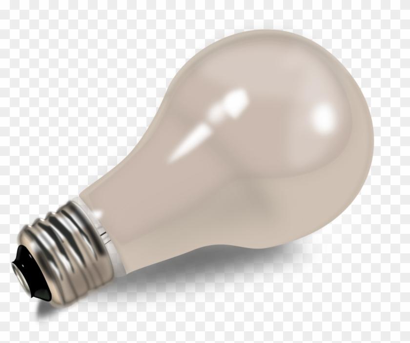Big Image - Incandescent Light Bulb Clipart #594170