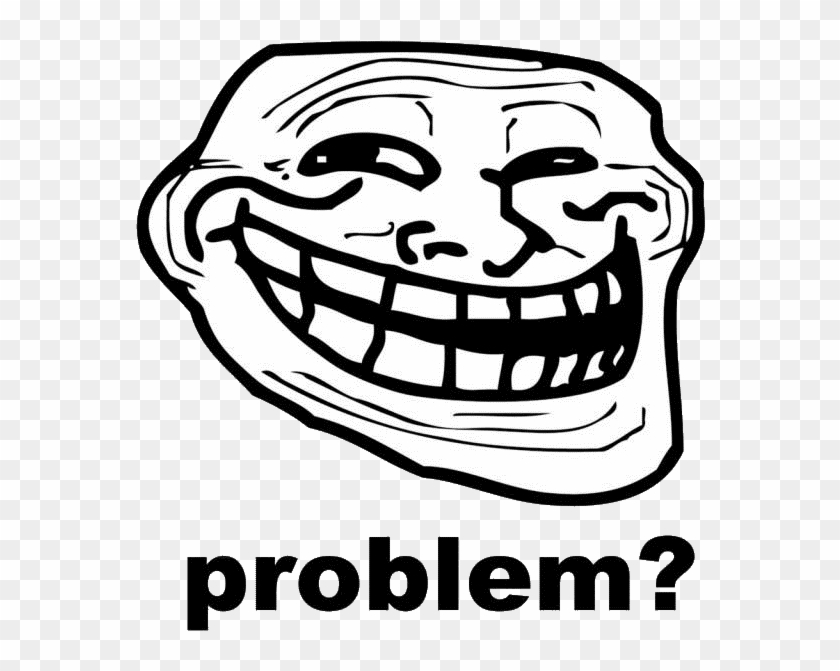 Trollface Png Transparent Images - Troll Face Clipart #595831