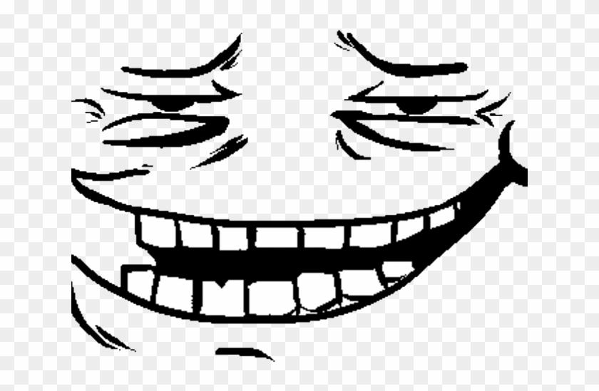Trollface Clipart Transparent Png - Omega Flowey Face #595887