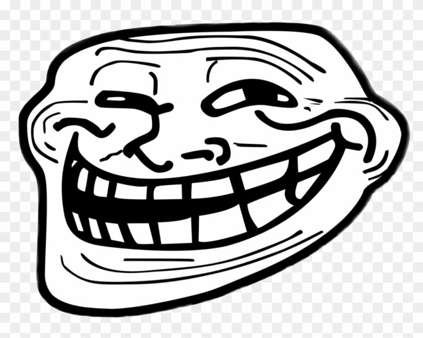 Troll Sticker - Black And White Memes Clipart #596182
