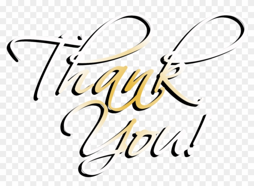 Png Image Information - Transparent Thank You Word Art Clipart #597419