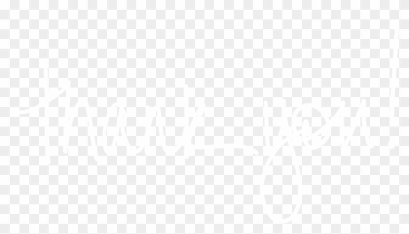 Thank You White - Johns Hopkins Logo White Clipart #597905