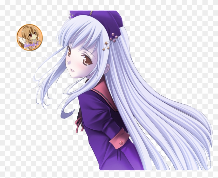 Anime Png - Anime Purple Png Clipart #598795