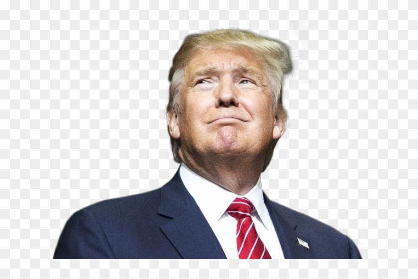 Donald Trump Png Transparent Images - Donald Trump Israel Flag Clipart #599709