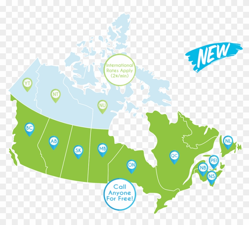 Canada Map 3 - Canada Election Map 2017 Clipart #5901749