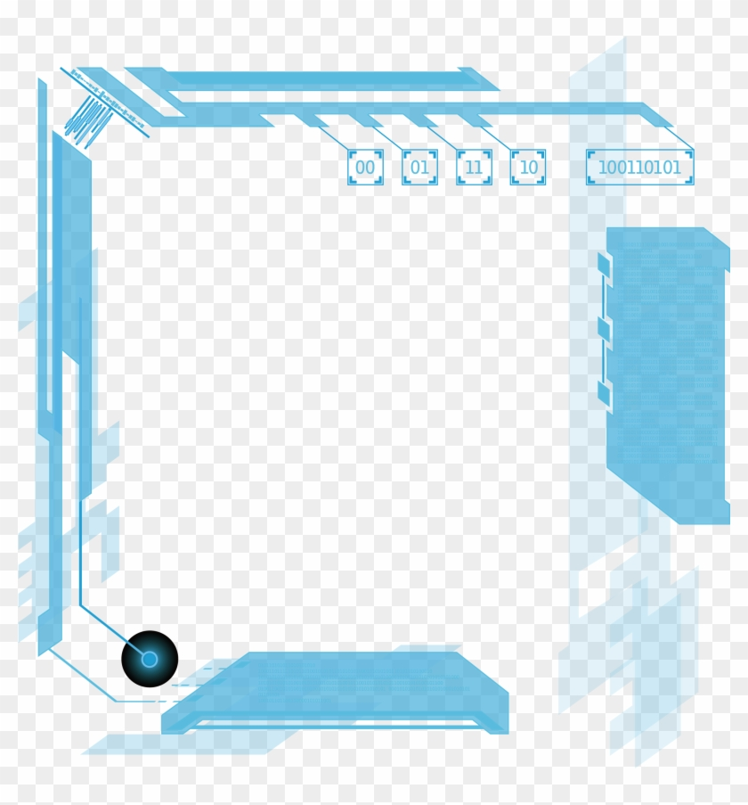 Technology Border Png - Science And Technology Borders Clipart #5913728