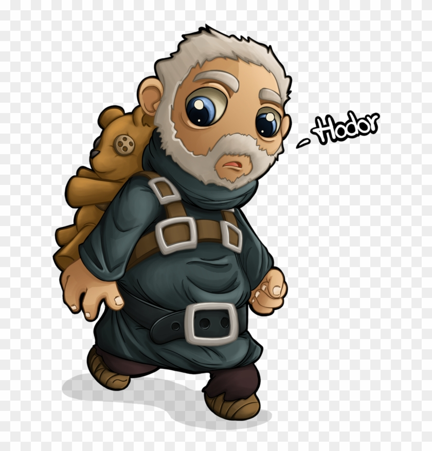 Hodor Dave The Minion Mammal Vertebrate Cartoon Fictional - Game Of Thrones Chibi Hodor Clipart #5924259