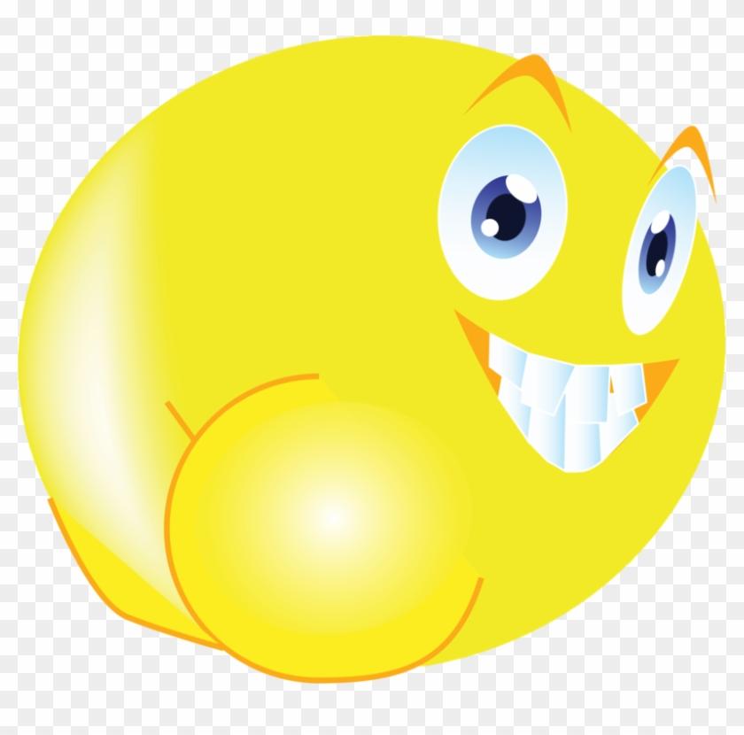 Smiley Emoticon Computer Icons Mooning Emoji - Mooning Smiley Clipart #5936781
