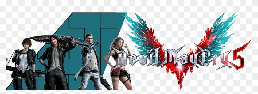 Devil May Cry Devil May Cry 5 Logo Png Clipart 5938413 Pikpng