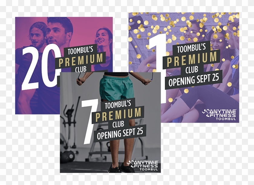 Posters, Flyers, Business Cards And More Helped To - Anytime Fitness Posters Clipart #5941835