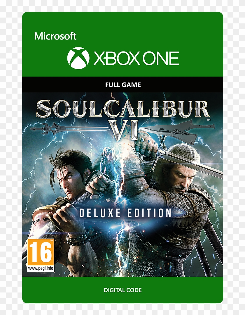 Soul Calibur 6 Deluxe Edition Xbox One Clipart 5945443 Pikpng