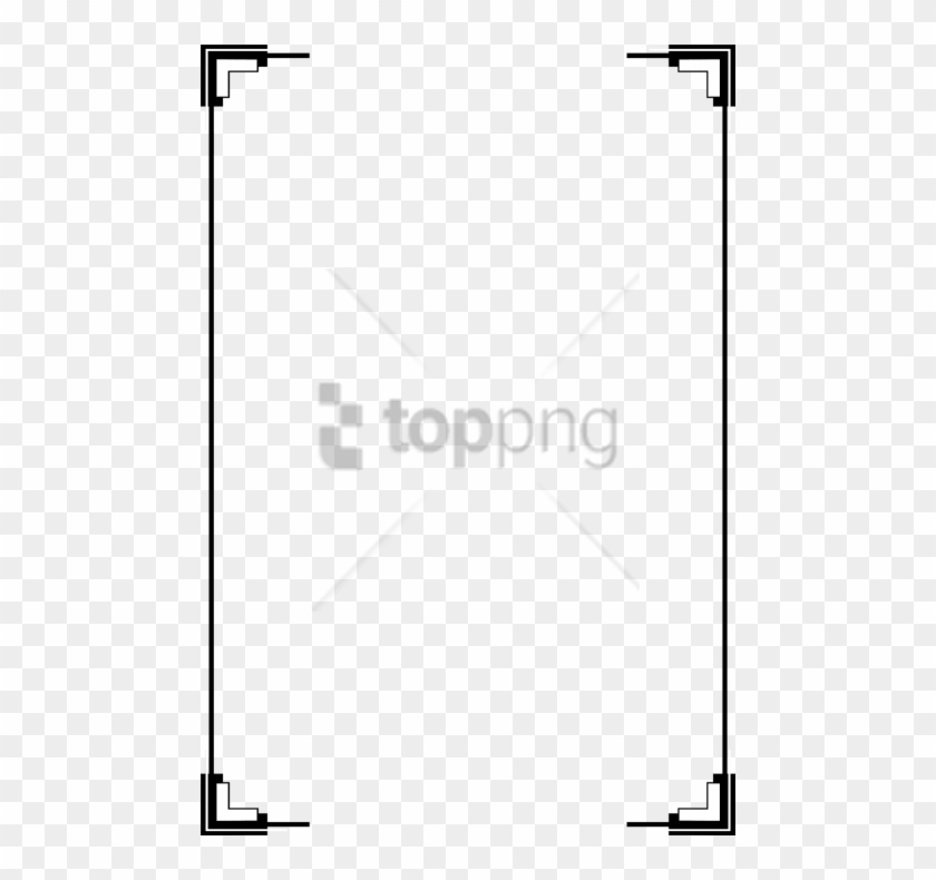 Free Png Simple Line Borders Png Png Image With Transparent - Transparent Border Frame Png Clipart #5945618