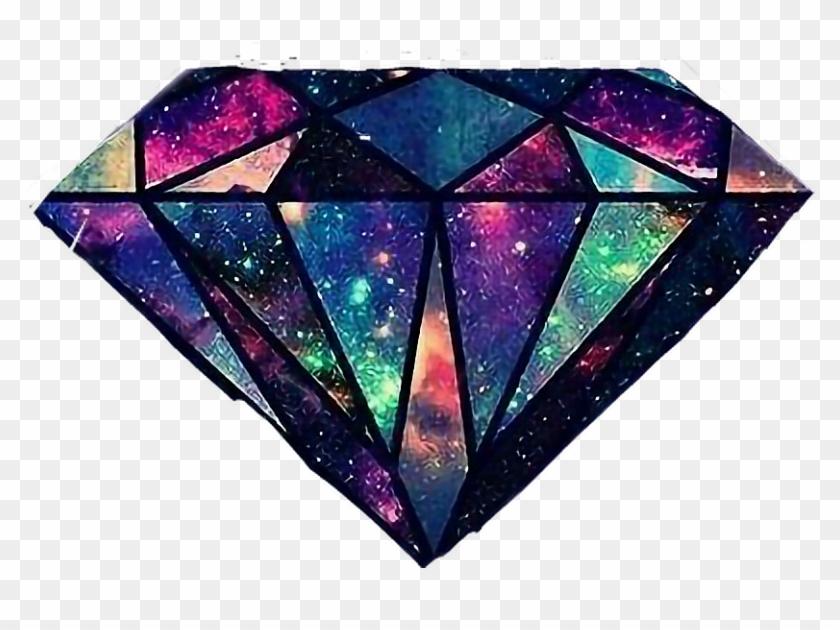 595 5950134 diamante galaxia joia galaxy tumblr diamante galaxia clipart