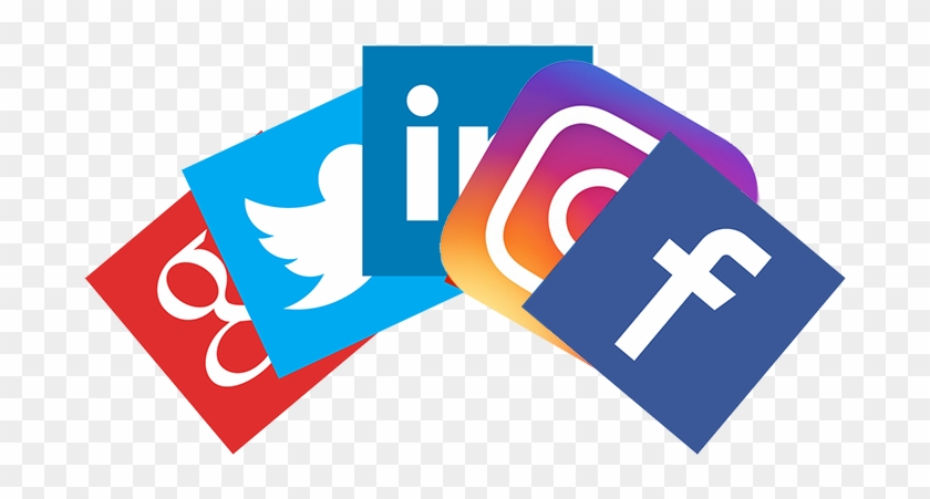 1) Integration To Facebook, Twitter, Instagram, Linkedin - Fake News And Media Literacy Clipart #5952099