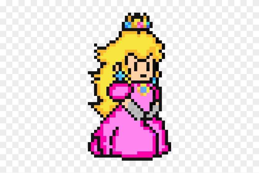 Peach De Monica Princess Peach 8 Bit Clipart 5959171