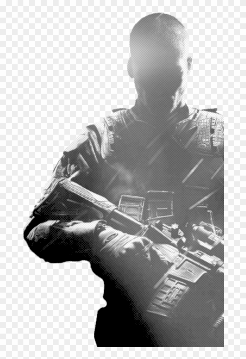 Black Ops Soldier Png - Call Of Duty Black Ops 2 Hd Clipart #5963918