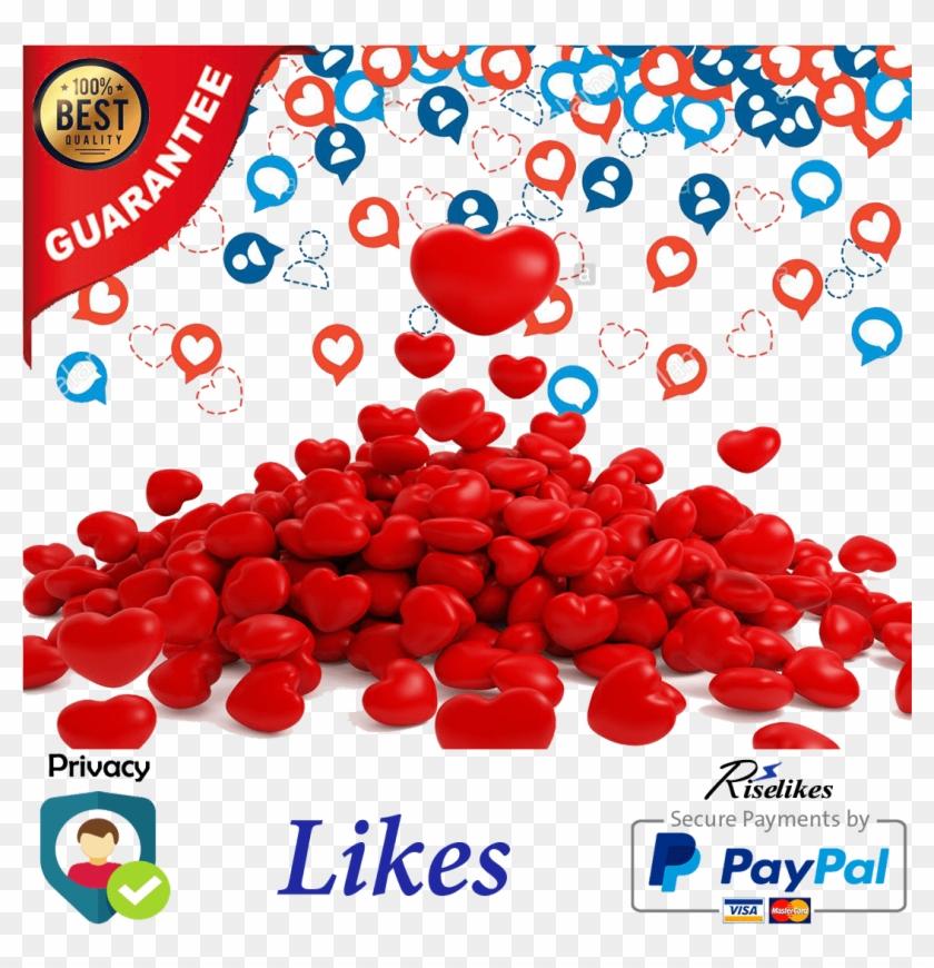 Buy Instagram Likes - Likes Auf Den Verschiedene Social Media Apps Clipart #5972661
