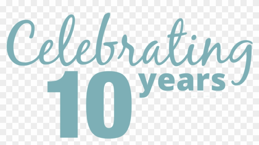 Celebrating 10 Years Clipart #5973195