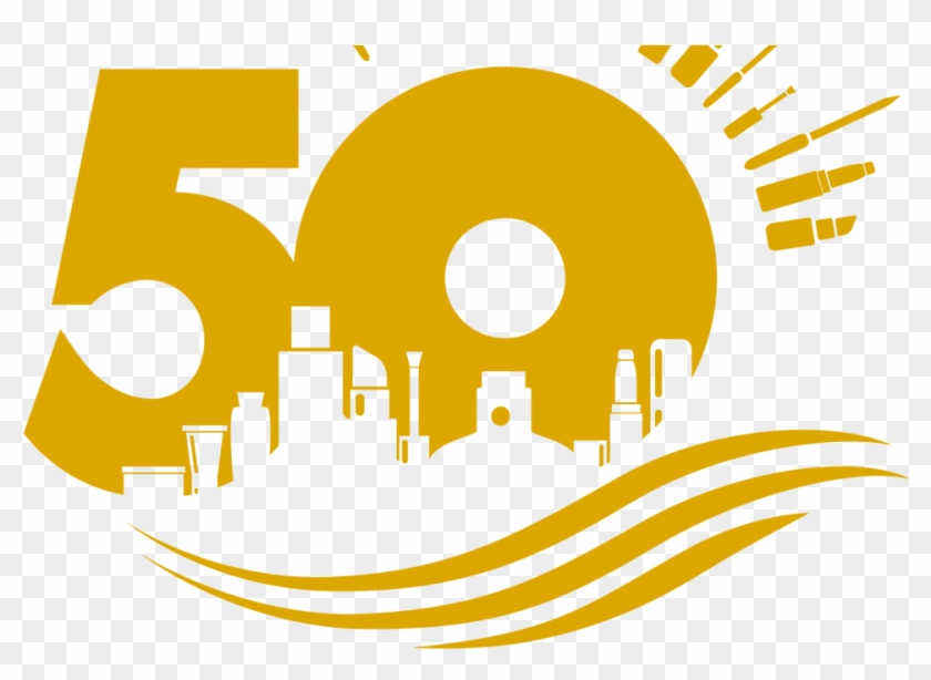 Coty, Celebrating 50 Years At Their Bournemouth Site - Celebrating 50 Years Logo Clipart #5973640