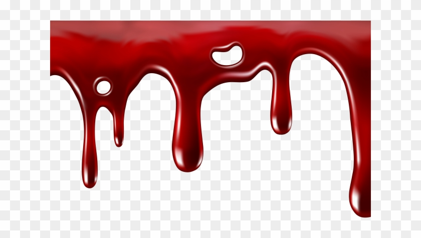 Blood Clipart Ooze Blood Dripping Transparent Background Png Download 5974895 Pikpng