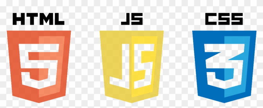 Html5 Css3 Javascript Logos - Html Css Icon Png Clipart@pikpng.com