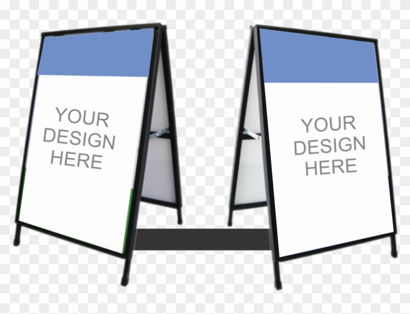 A-frame - Border Frame Banner Design Clipart #5982109
