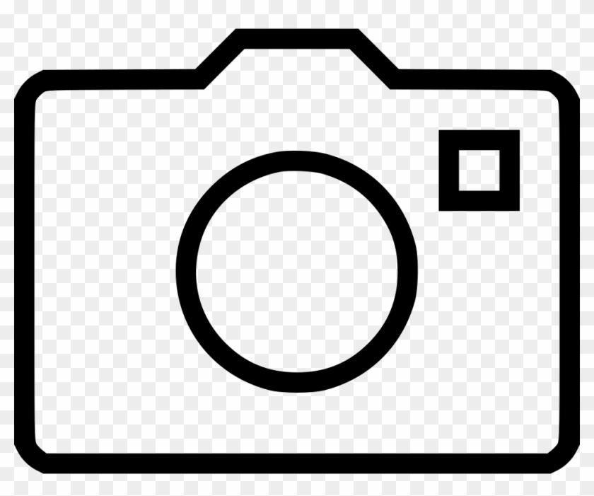 Camera Symbol Png - Circle Clipart #5995036