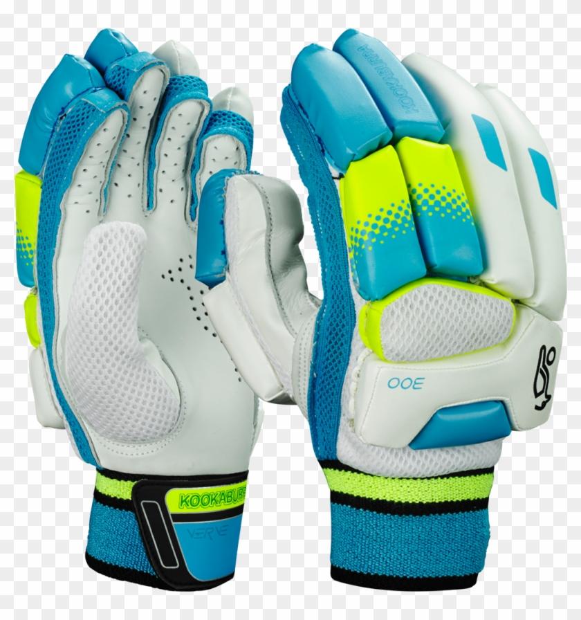 Kookaburra Verve Batting Gloves Are Contemporary Styled - Kookaburra Left Handed Cricket Gloves Clipart #5998302