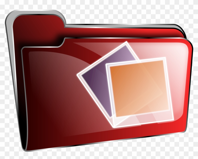 This Free Icons Png Design Of Folder Icon Red Photos Clipart #60479