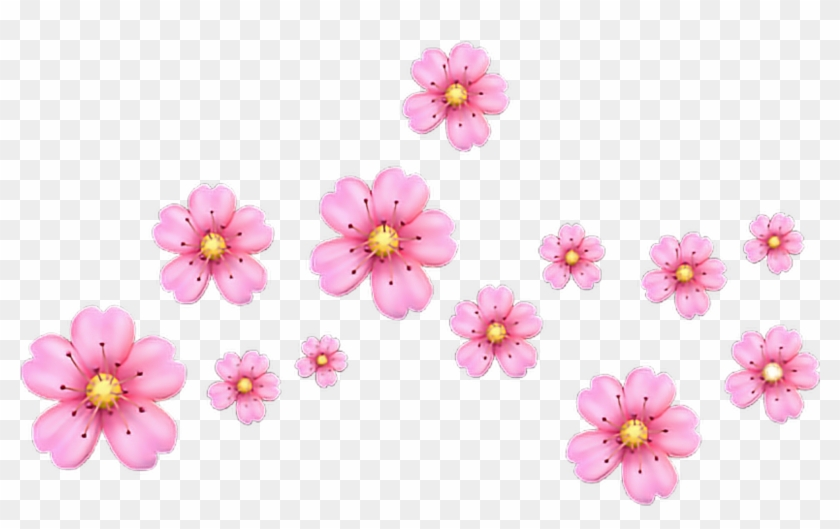 Crown Hearts Heart Heartemoji Emojis Pinkemoji Flowerem - Overlays Kawaii Clipart #60775