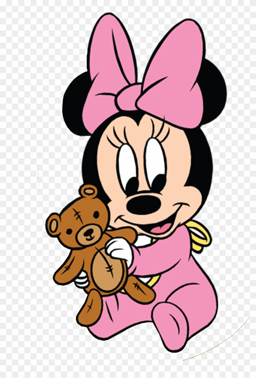 1236 X 1600 17 Minnie Bebe Clipart 60793 Pikpng