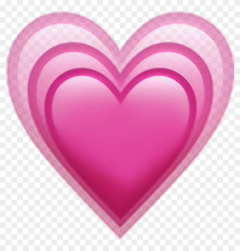Emoji Sticker - Heart Emoji No Background Clipart #61249