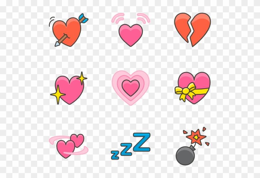 Emoji - Heart Clipart #61481