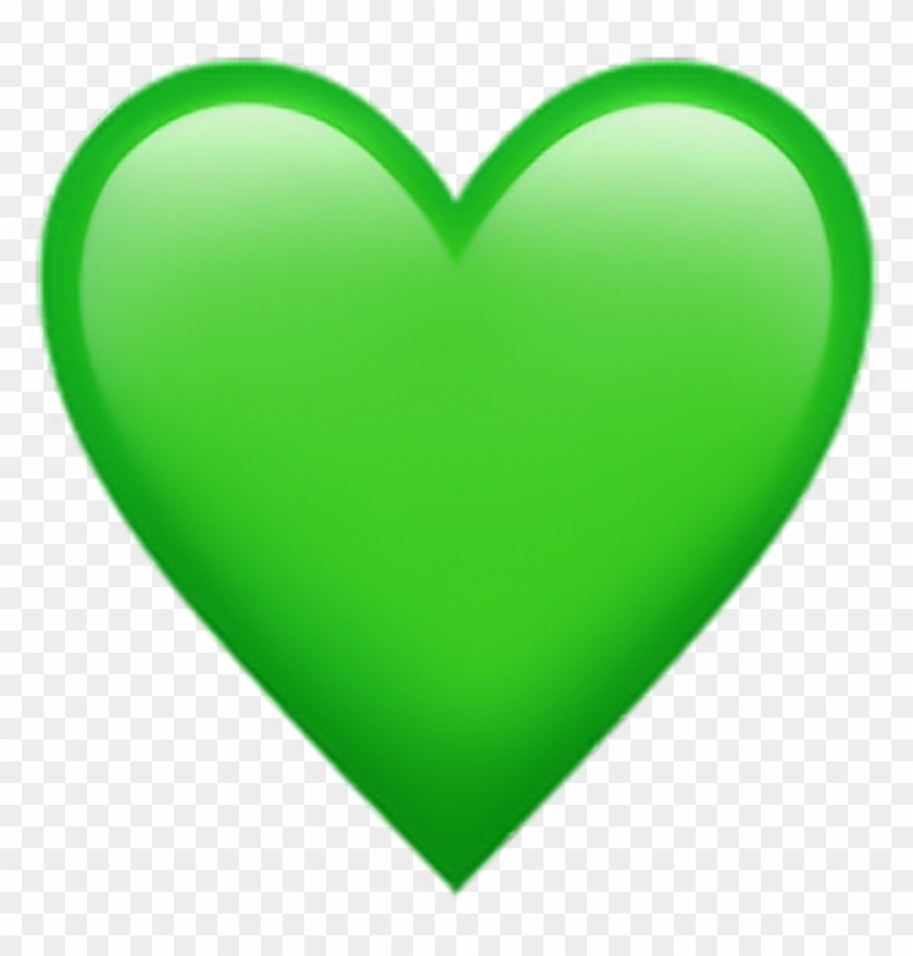 Greenheartemoji Green Heart Emoji Png Download - Green Heart Emoji Clipart@pikpng.com