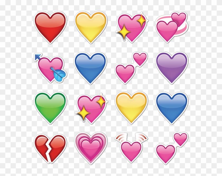610 X 610 7 - Emojis De Corazones De Whatsapp Clipart #62406