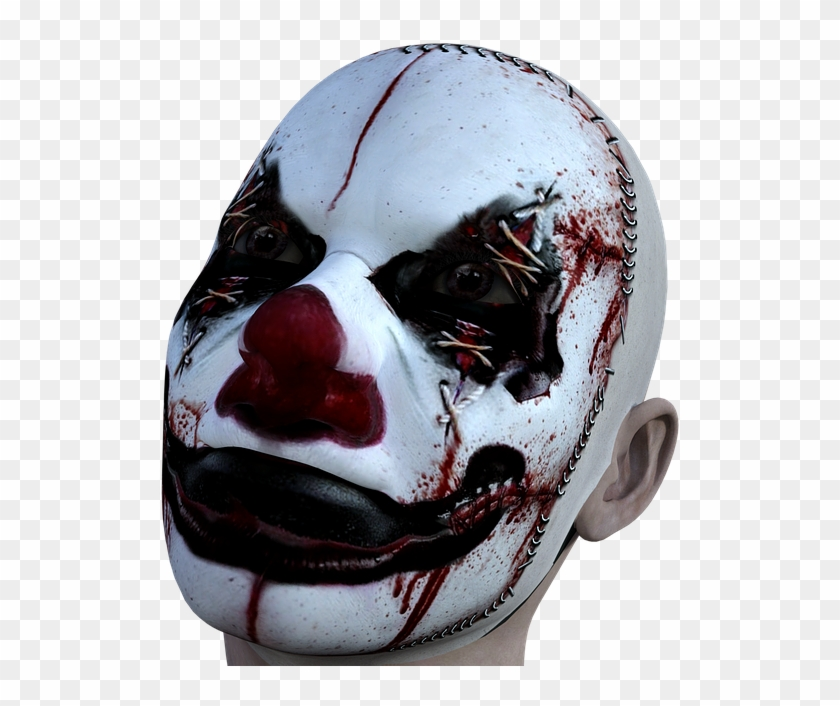 Clown Evil Horror Halloween Scary Fear Spooky Scary Halloween Images Png Clipart 62430 Pikpng
