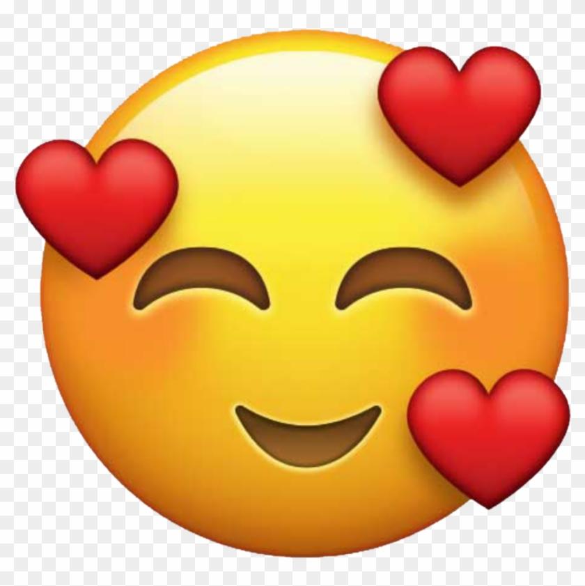 Emoji Emojis Love Heart Hearts Tumblr Png Love Emoji - New Heart Smiley Emoji Clipart #62653
