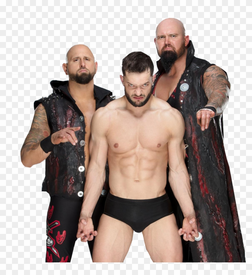 Bullet Club - Finn Balor And Luke Gallows And Karl Anderson Clipart #64247