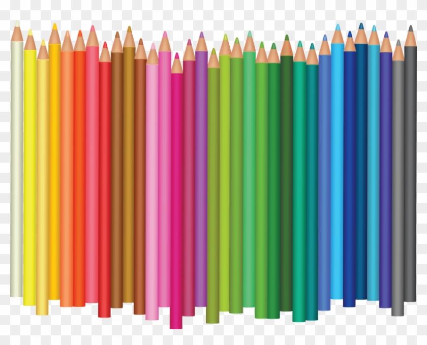 Free Png Download Color Pencil's Png Images Background - Transparent Color Pencil Png Clipart #600536